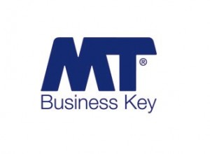 MT business key logo